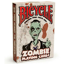 Bicycle Zombie Playing Cards, Halloween Deck zombies Walking Dead Survival Guide
