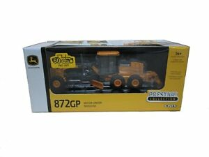 NEW John Deere 872GP Motor Grader, Collector Edition 1/50 Scale LP67308 TBE45049