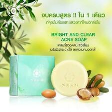 NEEM Bright & Clear Acne Soap cleansing  retreating facial with Tea Tree Oil 50g