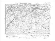 Porkellis old map Cornwall 70SE repro Seworgan 1909 Carnebone