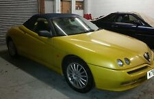 Alfa Spider Blue Mohair Hood / Soft Top / Roof £890 FITTED
