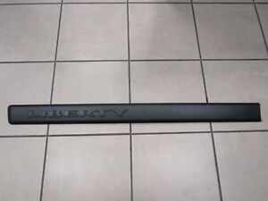 JEEP LIBERTY Left Driver Front Door Molding Black NEW OEM MOPAR