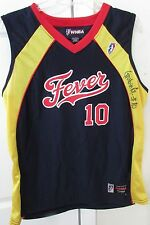 WNBA Indiana Fever #10 Gordana Grubin Signed Autographed Jersey Medium