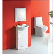 450mm Semi Recess Solid Door Vanity