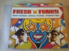 FRESH 'N' FUNKY - POP ROCK SOUL FUNK FOREVER - HOUSE CD SINGLE
