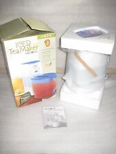 New Mr Coffee 3-Quart Iced Tea Maker TM 75 Brews Fresh Tea 3 P