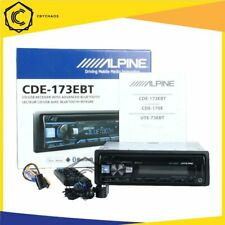 Alpine Cde-173Ebt Single-Din Bluetooth/Aux-In/Usb/Cd Receiver Car Stereo player