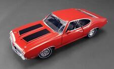 ACME 1970 OLDSMOBILE 442 MATADOR RED Dr OLDS SERIES #3 DIECAST CAR 1:18
