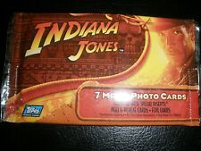 2008  Topps  INDIANA  JONES  Movie  Cards  (  7  )
