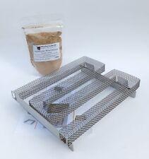 Sparbrand, Kaltrauch-Erzeuger-3 inkl. Kalträuchergewürz Forelle, Räucherhaken