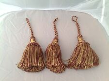 Trio of Heavy Vintage Silk Tassels