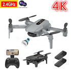 2021 RC Drone 4K Dual Camera WiFi FPV Selfie Drone Foldable Quadcopter Gifts NEW