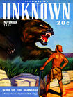 """Pulp Cover Poster - Unknown V2 No 3, November (1939) Canvas Art Poster 18"""" x 24"""""""