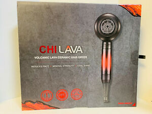 CHI Lava Volcanic Ceramic Hair Dryer - NEW / SEALED IN BOX