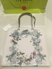 TED BAKER Enchanted Dream Large Pale Pink PVC Icon Tote Shopper Bag   New