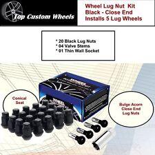 C1709BL34 Wheel Lug Kit Black Nuts M14x15 Fit Jeep Grand Cherokee 11