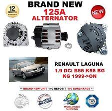 Para Renault Laguna 1.9 dCi B56 K56 BG kg 1999-ON nuevo 125A Alternador calidad OE