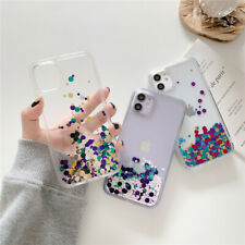 For iPhone 11 Pro Max XR XS X 7 8 SE Liquid Quicksand Bling Glitter Phone Case