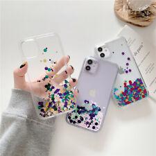 Liquid Quicksand Round Glitter Phone Case For iPhone 11 Pro Max XR XS X 7 8 SE