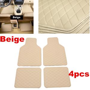 4x Front&Rear Full Set Car Carpet Waterproof Floor Mats For Interior Accessories