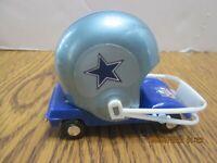 COWBOYS Football NFL Helmet Buggy Toy Cart Car Plastic Gumball