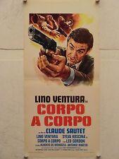 CORPO A CORPO regia Claude Sautet locandina originale 1976