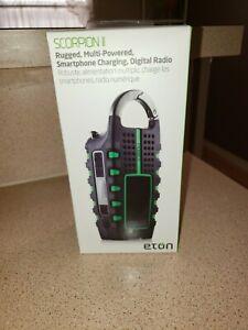 Eton Scorpion II Digital Radio BNIB FREE SHIPPING