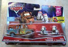 CARS 2 - MATER with ALLINOL & EDAMAME / DAISU TSASHIMI - Mattel Disney Pixar