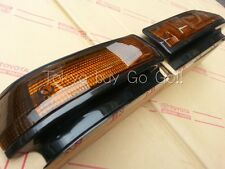 Toyota AE86 Trueno Kouki Front Fender Turn signal Lens set Genuine OEM Parts
