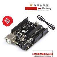 ATMEGA16U2 Version Uno R3 MEGA328P Board kompatibel für Arduino mit USB Kabel