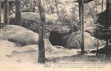 Bosque de Fontainebleau - Caverna bandidos