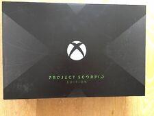 Microsoft Xbox One X Project Scorpio Edition - BNIB - SEALED