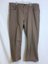 Saddlebred Men's Size 46W x 30 Tan Khaki Chino Pants Jeans Big & Tall