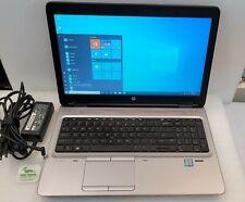 """HP ProBook 650 G3 15.6"""" FHD Laptop Intel i5-7300U 2.6GHz 8GB 500GB SSHD Win10Pro"""