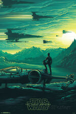 Star Wars: The Force Awakens- Takodana Sunrise Poster Print, 24x36