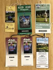 Various Golf Tickets Byron Nelson Barclays Classic PGA Championship More