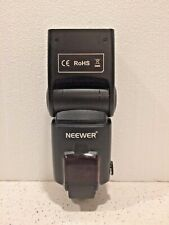 Neewer ROHS Speedlite Portable Camera Flash - Very Nice - Preowned - Clean!