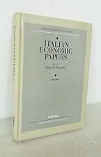 Pasinetti(ed.),ITALIAN ECONOMIC PAPERS Vol.I,1992 Mulino/Oxford[economia