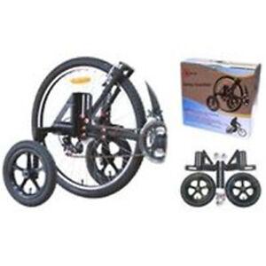BP GENERAL-TRAINING WHEELS  20-29, Adult (120kg Cap) w/pneumatic tyres(4373)