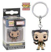 Portachiavi X-Men Wolverine Logan Pocket Pop! Marvel Vinyl KeyChain Funko
