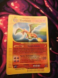 Carta Pokemon CHARIZARD 40/165 Reverse Holo Expedition ITA