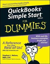 QuickBooks Simple Start For Dummies (For Dummies (Computers))-ExLibrary