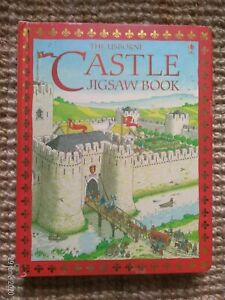 Game Book Puzzle Castle Fort Middle Ages Castle Jigsaw Book Full IN English