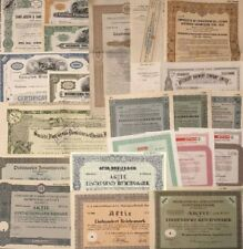 Lot/Sammlung: 20 St. historische Wertpapiere - International !!!
