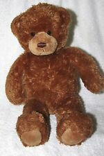 "CUTE & CUDDLY BROWN SQUEEZER GUND TEDDY BEAR PLUSH TOY 15"" long"