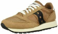 Saucony Mens Jazz Original Vintage Lace-Up Sneakers Brown/Black  Pick A Size NWB