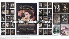 NEW Mario Moreno Cantinflas DVD NEW Grande Coleccion De 37 Peliculas ORIGINALES