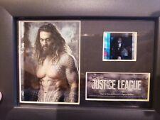 Justice League Jason Momoa Aquaman 2017 Dc Comics Movie Photo and Film Cell 5x7