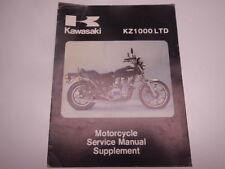 1980 Kawasaki KZ1000LTD Service Manual Supplement KZ1000 LTD KZ 1000 1000LTD 80