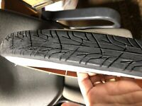 Motorized Bicycle Black Motorcycle tread tires 26 x 2.125 w new tubes rimstrips